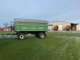 camião basculante com rodas ** Brantner Z 18051 G 18 to 3 Seitenkipper Stahlaufbau 40 km/h 2018