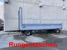 полуприцеп с откидными бортами Schwarzmüller PA2/Z-19,5  2 Achs Jumbo- Pritschenanhänger mit Rungentaschen 2008