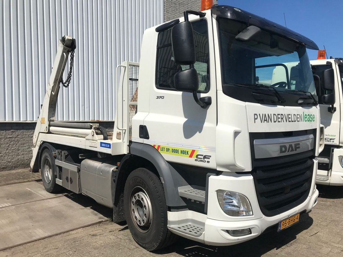 container truck DAF CF 370 FA 4x2 2016