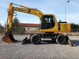 wheeled excavator Komatsu PW150ES-6K 2000