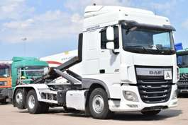 roro tractor unit DAF XF106.460 VDL S20-6300 Lift/Lenkachse Intarder 2014