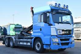 roro tractor unit MAN TGS 26.440 6X2 Abroller HIAB XR21S56 Schalt Xeno