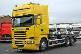 roro tractor unit Scania R 450 6x2 Topline Retarder Alcoa Hiab Multilift 2015