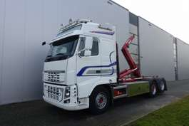 camião de contentores Volvo FH750 6X2 HOOK RETARDER HUB REDUCTION EURO 5 2012