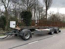flatbed full trailer Universeel 3 asser platte aanhangwagen aanhanger 1996