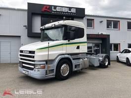 kabina konwencjonalna Scania T 420 LA4x2 MNA Hauber / grüne Plakette / ADR / Retarder / Schaltgetriebe 2005