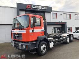 container truck MAN 27.464 6x4 BB / Meiller 19.65 Abrollkipper / Retarder 1999