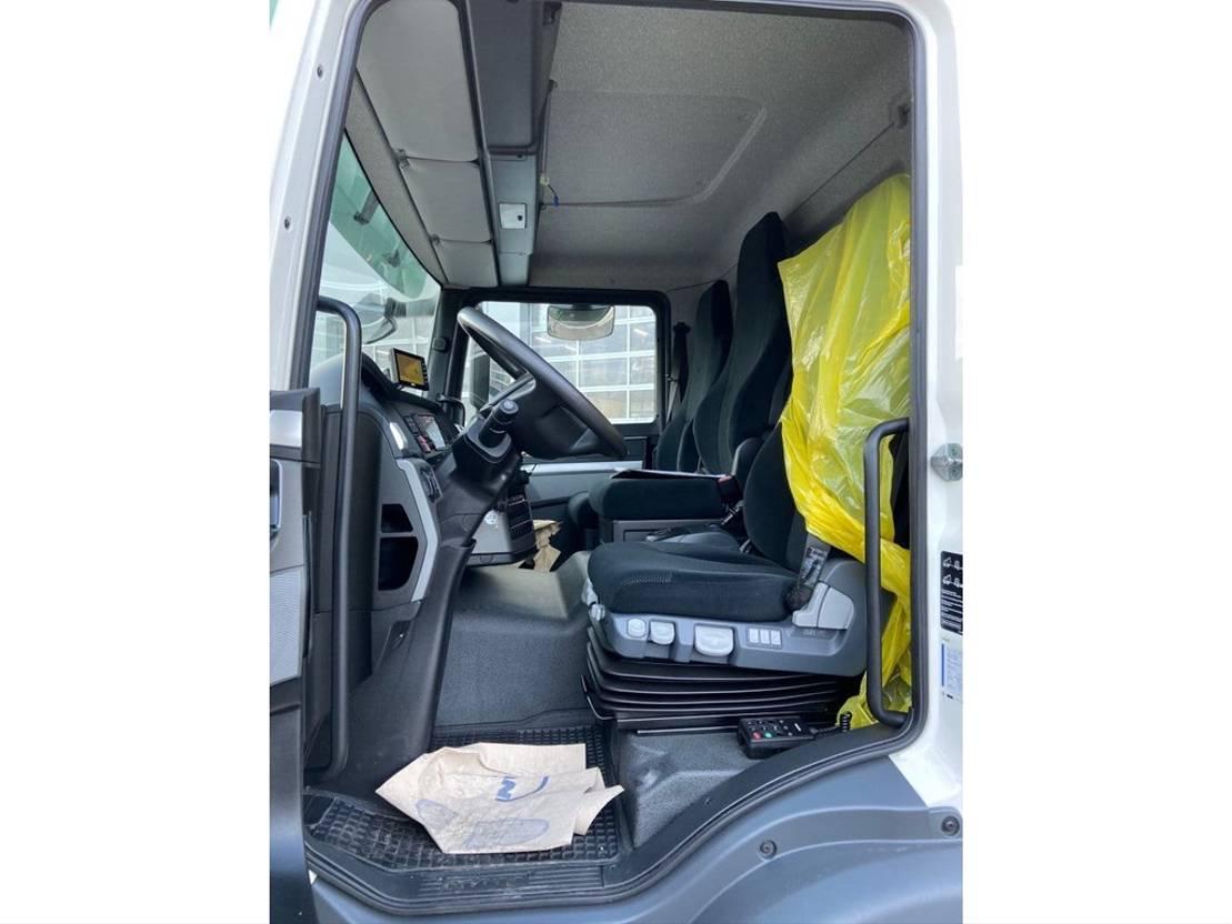 closed box truck > 7.5 t MAN TGM 15.290 4x2 BL 2017