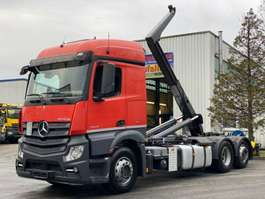 roro tractor unit Mercedes Benz Actros 2743 6x2 Euro6 ACC Lift Lenk  Meiller