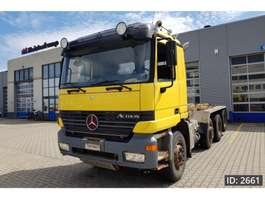 camion portacontainer Mercedes Benz Actros 2548 Day Cab, Euro 3, Full steel suspension 2000