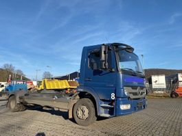 chassis semi trailer Mercedes Benz 1218 (TOP TOP TOP) 2014