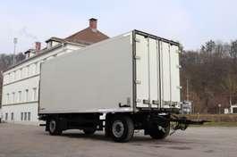 closed box trailer Schmitz Cargobull KO18 Durchladesystem LBW 2008