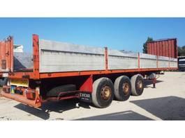 semirreboque de plataforma Package of trailers Full steel suspension