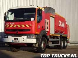 cisternové vozidlo Renault Kerax 340-26 6x4 - 13.000 Ltr. watertank, 1.000 ltr Foam Rocher CCGC 200... 2001