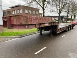 lowloader semi trailer ES-GE STL - 4 ASSEN - BED: 8,84 + 4,70 METER 2001