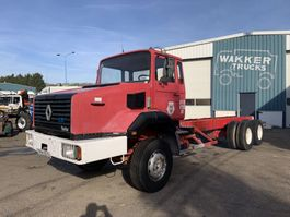chassis cab truck Renault CBH 280 6X4 CHASSIS 1987