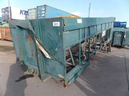 other containers VERNOOY BUNKER MET TRANSPORTBAND GEBRUIKT 8271