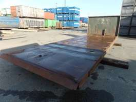 flat rack shipping container VERNOOY LAADBAK 8275