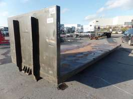 flat rack shipping container VERNOOY LAADBAK 8276