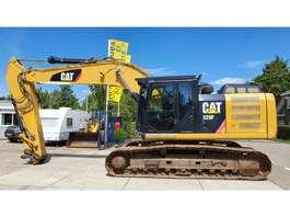 escavadora de rastos Caterpillar 329EL 2014