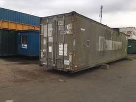 isolated shipping container VERNOOY ZEECONTAINER 694599 GEISOLEERD 40FT
