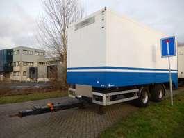 closed box trailer Vogelzang VA-P-18-MKB 2 As Wipkar Gesloten, WX-79-XV 2000