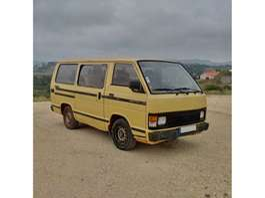 autobús taxi Toyota Hiace H12 LH51 2.4 D 9 seats left hand drive 1988