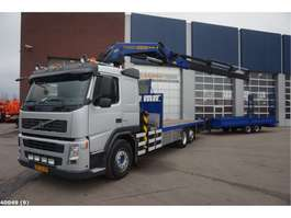 crane truck Volvo FM 9.380 Euro 5 Palfinger 42 ton/meter + Demmler wipkar 2007