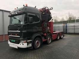tracteur poids lourd Scania R 480 8 X 4 FASSI 110 T/M 2006