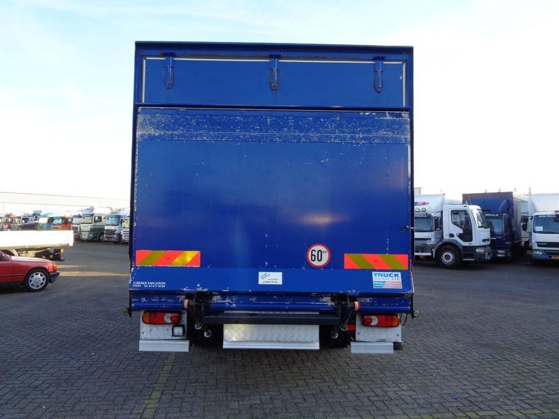 closed box truck > 7.5 t DAF LF 45.160 + Manual + Euro 5 2009