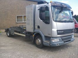 container truck DAF DAF FA-LF45 CONTAINER HAAKARMSYSTEEM 2011