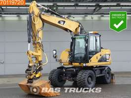 excavadora sobre ruedas Caterpillar M313D VA Engcon Tilt rotator - from first owner 2010