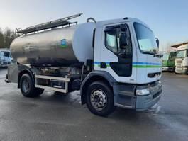 tank truck Renault Premium 270 4X2 AVEC CITERNE EN INOX ISOTHERME 2000