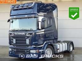 mega-volume tractorhead Scania R520  4X2 Retarder Mega V8 Navi ACC 2x Tanks Euro 6 2015