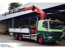 грузовая платформа DAF CF 75 - 310, Euro 5, HMF 4220 K4, Manuel, 6x2, Truckcenter Apeldoorn 2008