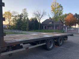 flatbed full trailer Uima 2 assige middenas 1999