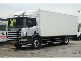 closed box truck Scania 94.220  MANUAL EURO 2 1997