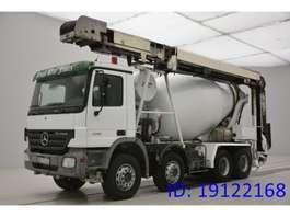 camion à bétonnière Mercedes Benz Actros 3241 - 8x4 - conveyor belt 2007