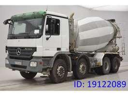 camion à bétonnière Mercedes Benz Actros 3241 - 8x4 2008