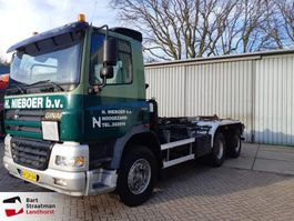 container truck Ginaf X3232S 6x4 Manual Kettingsysteem 2002