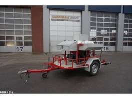 autres remorques voiture Mucar Brandweer waterpomp unit 1999
