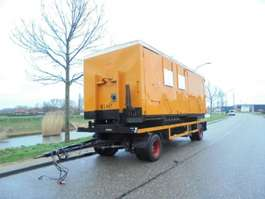 flatbed full trailer ATM 2-Axle Trailer / Mobile Canteen - Workshop / BPW Axles 2000