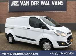 samochód dostawczy zamknięty Ford Transit Custom 290 2.2 TDCI L1H1 Trend Airco, 2x schuifdeur, trekhaak, c... 2013