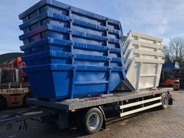 container chassis trailer Sommer AW180T 1998