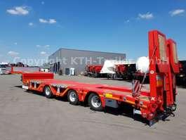 lowloader semi trailer Kaessbohrer Tieflader Lowbed SLA3 Radmulde/Wheel Recess