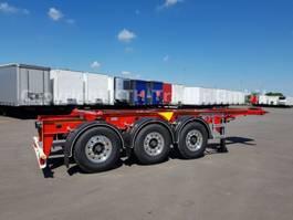 Wechselbrücke Anhänger Auflieger Kaessbohrer SHF-T Tank Container Chassis Starr 20 '' light