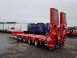 lowloader semi trailer Kaessbohrer Tieflader Lowbed SLA 4 Extandable