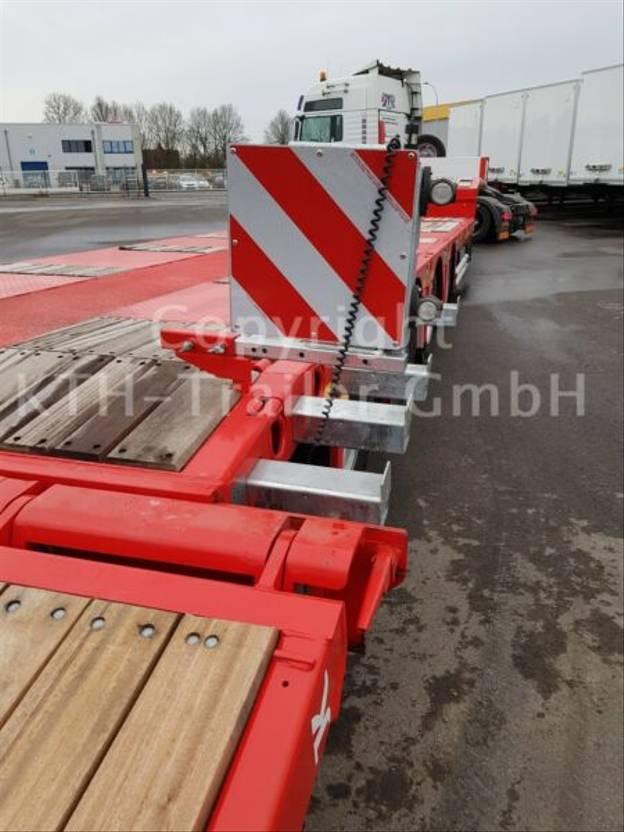 Tieflader Auflieger Kaessbohrer Tieflader Lowbed SLA 4 Extandable