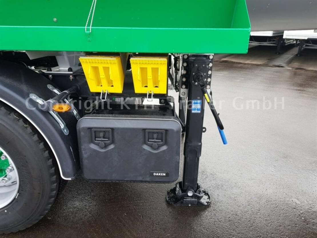 Tankauflieger Auflieger Kaessbohrer Gülle Tankwagen Auflieger Edelstahl STN