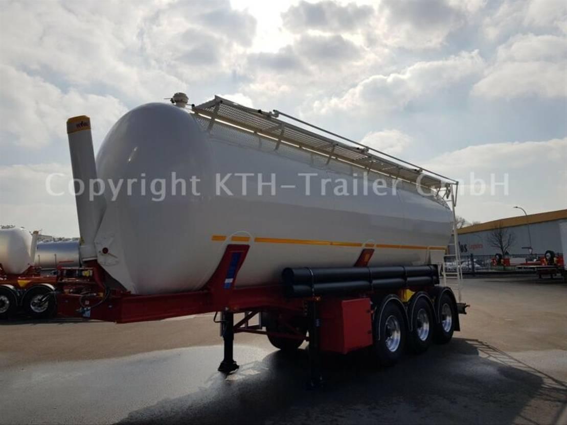 Futterauflieger Kaessbohrer SSK 40m³ Kippsilo / tipping